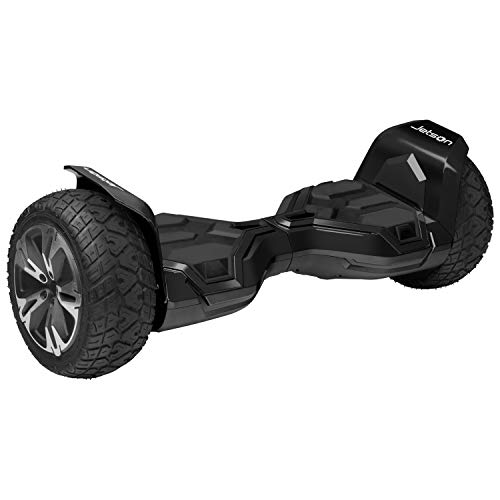 Jetson X2 Extreme Terrain Hoverboard with Powerful 800W Motor, Black