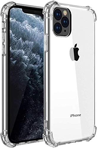 Bekhicc iPhone 11 Pro Case,Upgraded Add Shock Absorption Technology Bumper Soft TPU Clear Cover Case for Apple iPhone 11 Pro 5.8 inch (2019) -(Bright)