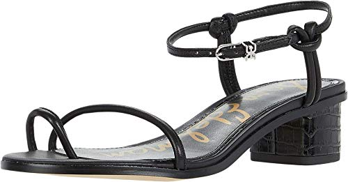 Sam Edelman womens Isle Heeled Sandal Black 8 M