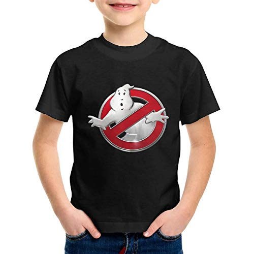 The Real Ghostbusters 2-6 Years Old Kids Boy Girl T Shirts 5/6T Black