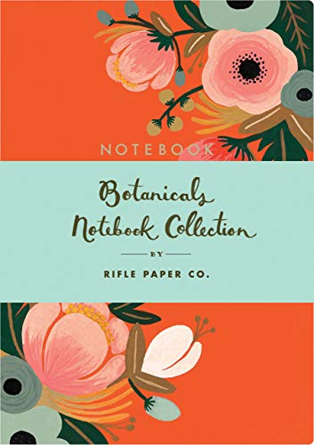 Botanicals Notebook Collection: (Floral Notebook Sets, Diary Notebooks, Paperback Notebooks)