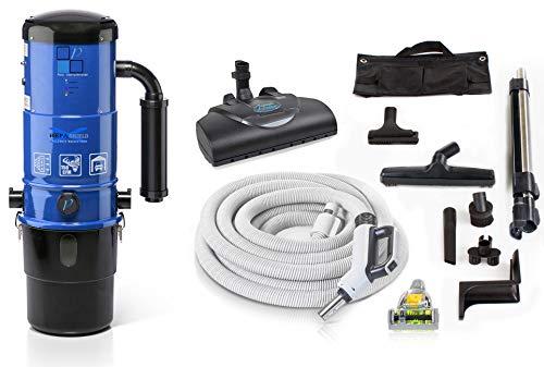 Prolux CV12000 Central Vacuum Unit System with Prolux Power Nozzle Kit