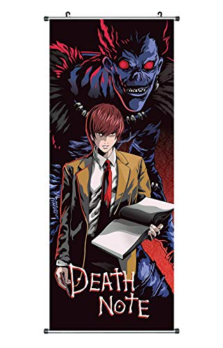 CosInStyle Large Fabric Wall Poster 100 x 40 cm for Ryuk & Light Yagami