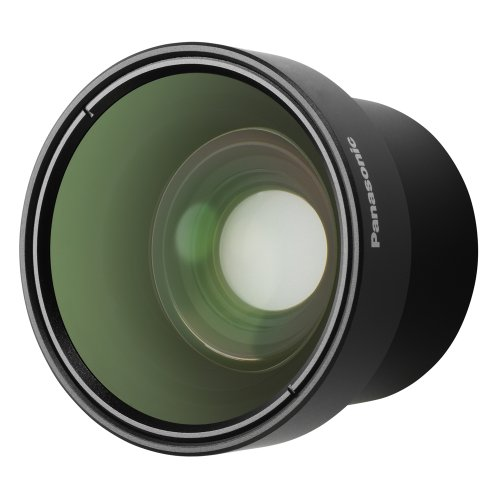 Panasonic VW-W4307H Wide Conversion Lens for Panasonic Camcorder (Black)