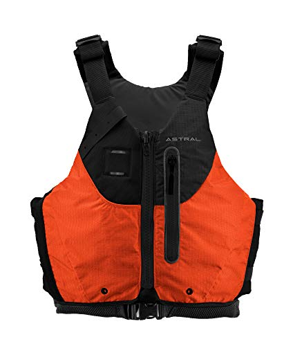 Astral Norge Life Jacket PFD for Whitewater, Touring Kayaking and Canoeing, Orange, L/XL