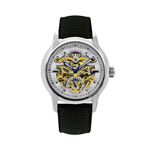 Gallucci Unisex Business Skeleton Automatic Watch