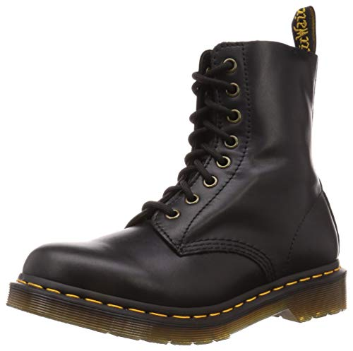 Dr. Martens Unisex Adults 1460 Pascal Wanama Smooth Leather Ankle Boots - Black - 8.5