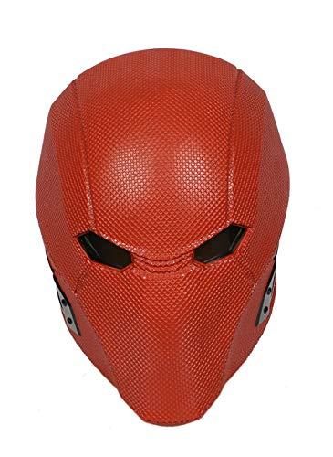 Xcoser Injustice 2 Red Hood Red Resin Helmet Game, Injustice 2, Size one size