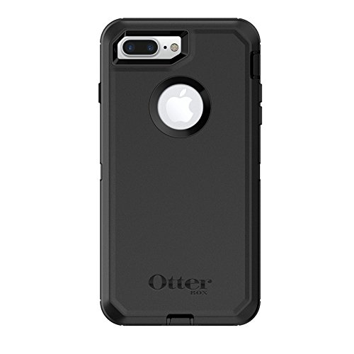 OtterBox Defender Series Case For iPhone 8 Plus & iPhone 7 Plus (Only) - Retail Packaging - Black