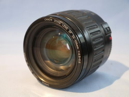 Canon 35-105mm f/4.5-5.6 Auto Focus Zoom EF Lens For Film And DSLR cameras