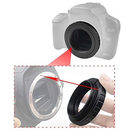 Alstar Metal T-Ring Adapter for C a no n EOS DSLR/SLR (Fits All Ca Non E OS SLR/DSLR Cameras)