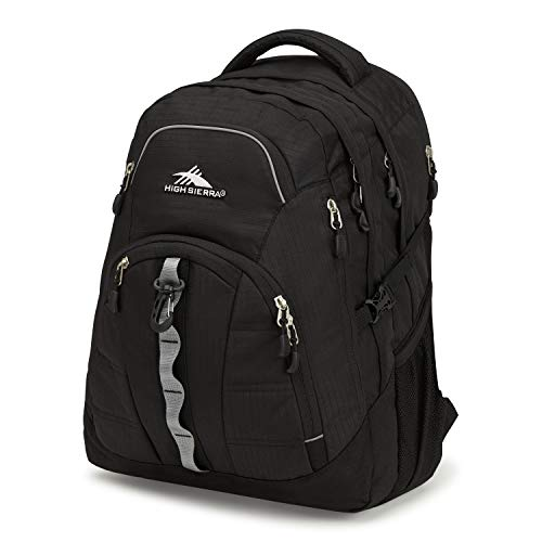 High Sierra Access 2.0 Laptop Backpack, Black, One Size
