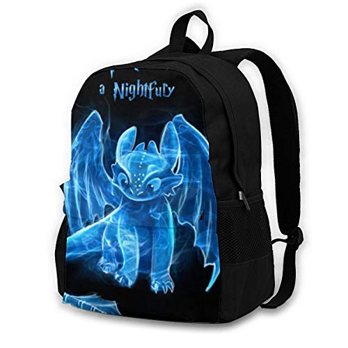 How-To-Train-Your-Dragon Backpack, Durable Shoulder Bag School Bag Laptop Bag Daypack for Adult Student