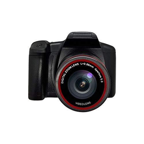 Digital Camera Vlogging Camera Video Camera, 1080P Ultra HD LCD Screen 2.4 Inch 16X Digital Zoom, Anti-Shake Cameras for Kids/Teenager/Seniors/Learner/Beginner