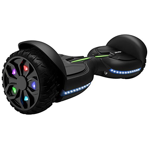 Jetson Z12 Extreme Terrain Hoverboard with LED Galaxy Light-Up Wheels, Bluetooth Speaker, LED Lights, App Enabled, UL 2272 Certified, for Kids and Teens