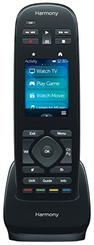 """Logitech Harmony Ultimate One – 2.4"""" Touch Screen Universal Remote for 15 Devices"""