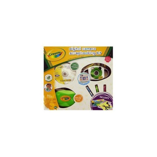 Crayola 23075 Digital Camera Scrapbooking Kit