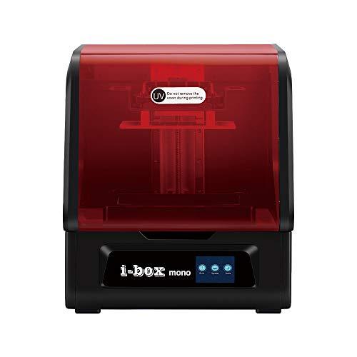 R QIDI TECHNOLOGY i Box 8.9 Mono 3D Resin Printer, UV Photocuring LCD Large Resin 3D Printer with 8.9' 4K Monochrome LCD, Matrix UV LED Light Source, Large Printing Size 7.55x4.72x7.87 inch