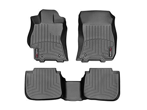 WeatherTech Custom Fit FloorLiner for Subaru Legacy/Outback - 1st & 2nd Row (Black)