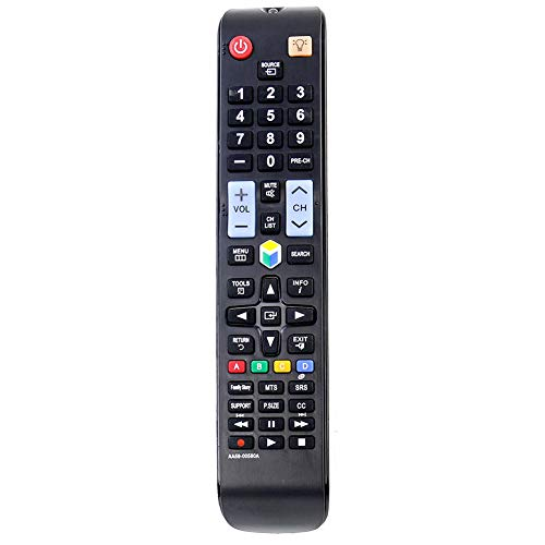 New AA59-00580A Replace Remote Control fit for Samsung TV UN32EH5300FXZA UN40ES6100FXZATS01 UN46ES6100FXZATS01 UN55ES6100FXZATS01 UN60ES6100FXZA UN60ES6100FXZAHH01 AA5900580A UN32EH5300F UN40EH5300F
