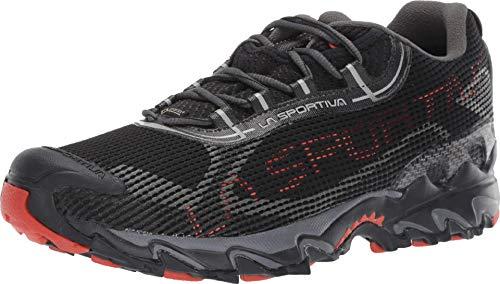 La Sportiva Wildcat 2.0 GTX Running Shoe, Black/Pumpkin, 45