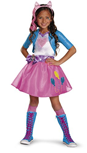 Pinkie Pie Equestrian Deluxe Costume, Small (4-6x)