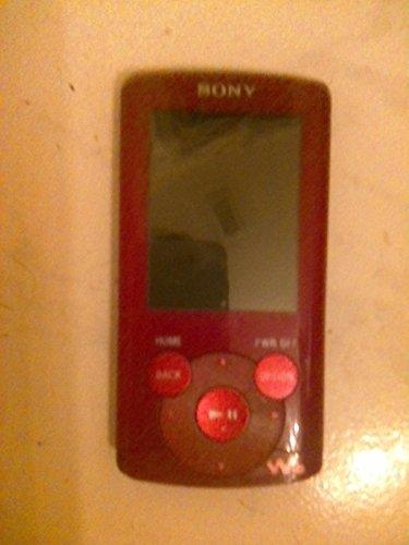 Sony Walkman E-Series NWZ-E364 8GB USB 2.0 MP3 Digital Music/Video FM Player w/2.0' LCD (Red)