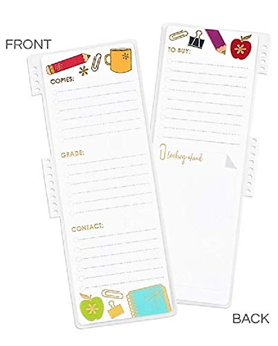 Erin Condren Snap-in to Do Dashboard, Apples (Acc SID2018 T)