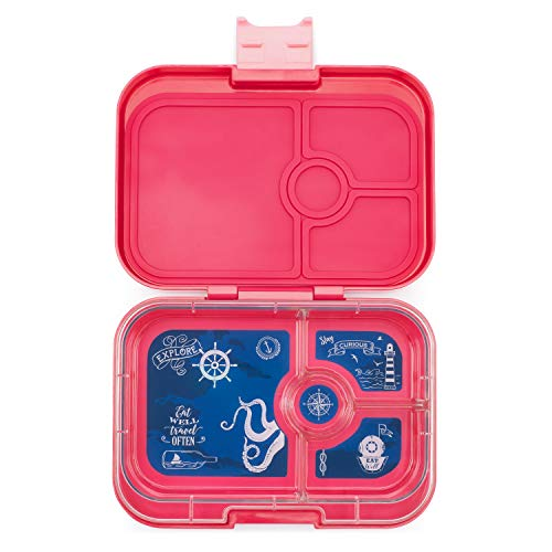 Yumbox Panino Leakproof Bento Lunchbox for Kids and Teens (Lotus Pink)