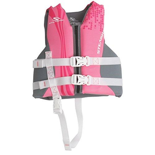 Stearns Child Hydroprene Vest, Pink/Purple