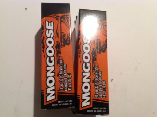 Mongoose 16' Bike Tire Tube (2) Sold in Pairs.