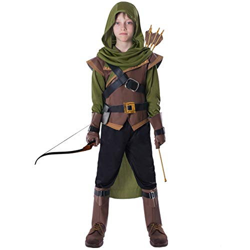 Spooktacular Creations Robin Hood Child Costume (Small (5-7yr)) Green