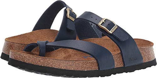 BIRKENSTOCK Betula Licensed Mia Soft Navy Birko-Flor 41 (US Women's 10-10.5) Narrow