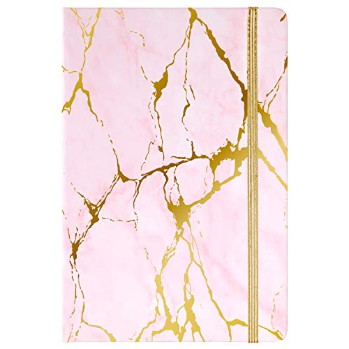 Classic Ruled Notebook/Journal - Hardcover Notebook with Premium Thick Paper, 5.6'×8.3', Perfect for Office Home School Business Writing & Note Taking