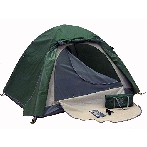 Genji Sports Aluminum Light Weight Camping Tent, Green Color