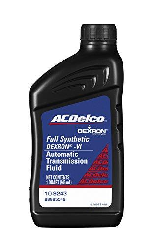 ACDelco 10-9243 Dexron VI Synthetic Automatic Transmission Fluid - 1 qt