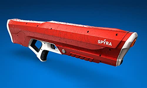 Spyra Two Electronic Water Gun Super Blaster, Battery for 2000 Water blasts and Effective Range of 30 ft ( TIKTOK Water Gun ) (Blue)