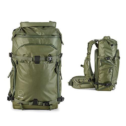 Shimoda Action X50 Water Resistant Camera Backpack Starter Kit - Fits DSLR, Mirrorless Cameras, Batteries & Lenses - Medium DSLR Core Unit Modular Camera Insert Included - Army Green
