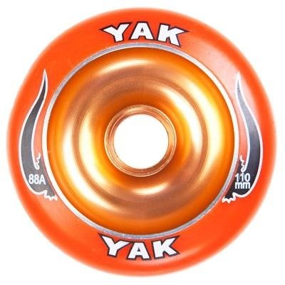 Yak Scooter Wheel Scat II Full Metal Core Orange 110mm