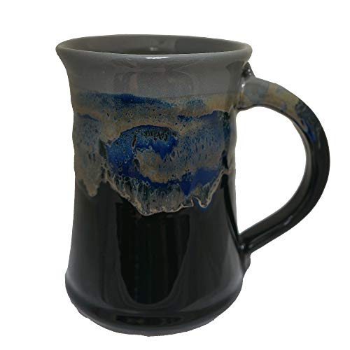 Clay in Motion Large Mug (Stormy Night)