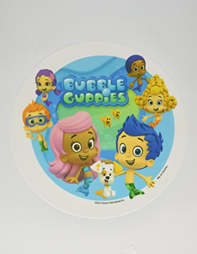 Bubble Guppies Edible Icing image Topper for 8 inch round cake or larger