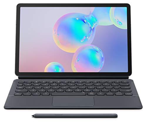 SAMSUNG Tab S6 10.5' (T860) Bookcover Keyboard Gray-EF-DT860UJEGUJ
