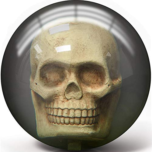 Pyramid Clear Skull Bowling Ball (14)