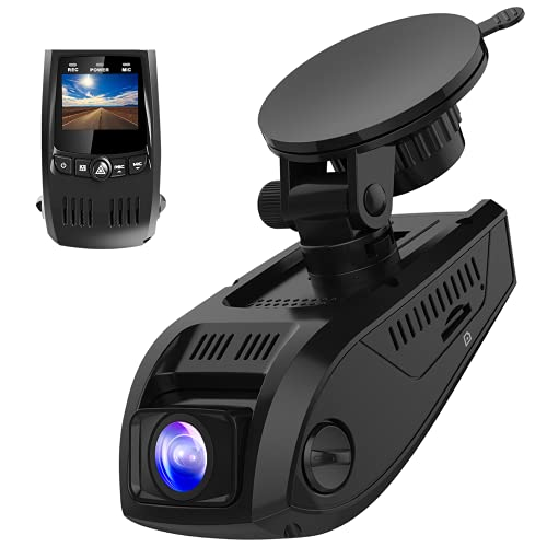 Pruveeo F5 Dash Cam 2021 Upgraded 1080P Support HD 1920x1080P Dash Camera for Cars 170° Wide Angle, G-Sensor, WDR, 24H Parking Monitor, Loop Recording