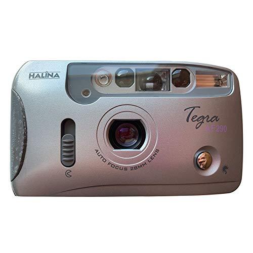 Halina Tegra AF290 35mm Film Camera Compact Point & Shoot Flash Auto Focus Motor