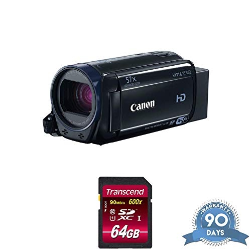 Canon 32GB VIXIA HF R62 Full HD Camcorder with Memory Card - (Renewed)