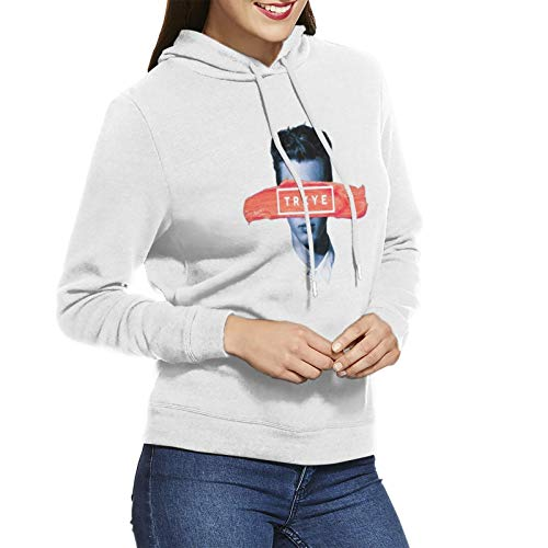 Troye Sivan Tryxe Hoodie Womens Long Sleeve Pullover Sweatshirts No Pocket Warm Hoodies White