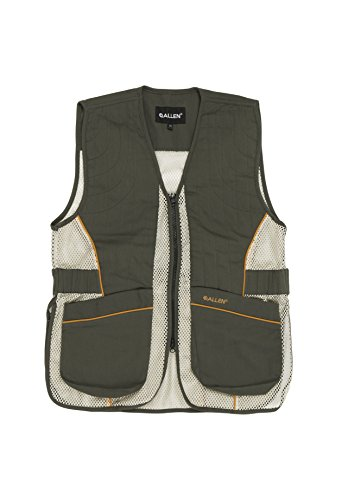 Allen Ace Shooting Vest with Moveable Shoulder Pad, Multicolor, XL/XXL (22612)