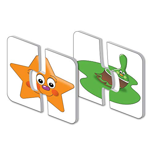The Learning Journey: My First Match It - Colors and Shapes - 15 Self-Correcting Matching Puzzles for Preschoolers