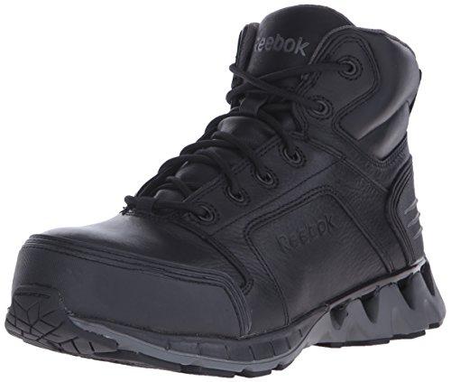 Reebok Work Men's Zigkick RB7000 Work Shoe, Black, 10.5 W US